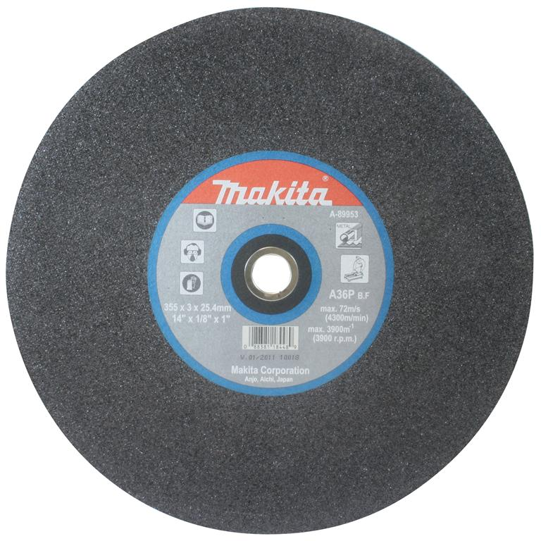 Makita A 89953 5 355 X 25 4mm Metal Cutting Discs 5 Pack