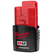 Milwaukee M12B 1.5 Ah Li-Ion Battery (4931427105)